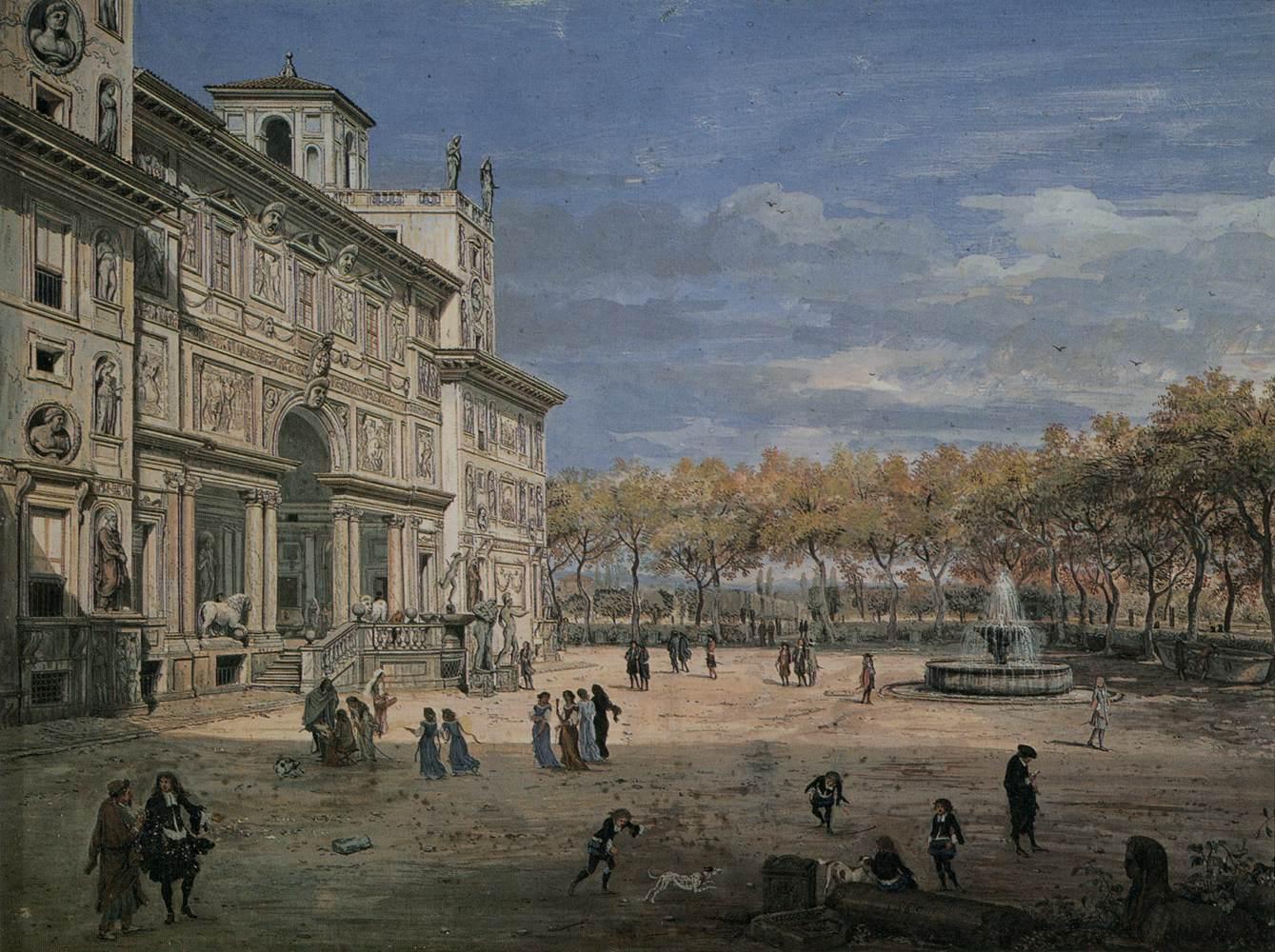 Villa Dei Medici Roma Com Era