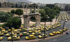 http://www.theguardian.com/world/2011/jul/18/greek-taxi-drivers-disrupt-tourists