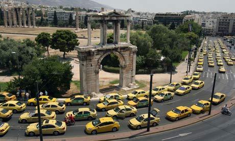 http://www.theguardian.com/world/2011/jul/18/greek-taxi-drivers-disrupt-tourists