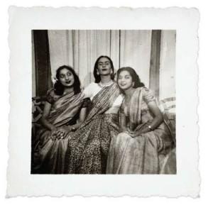 Frida in sari
