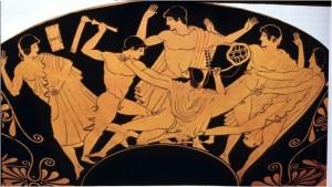 Herakles uccide Linos