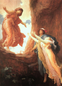 FredericLeighton-The Return of Perspephone 1891