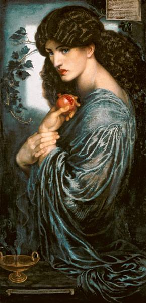 Proserpina - Dante Gabriel Rossetti 1874