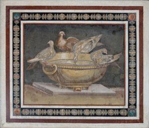 Mosaico da Villa Adriana Conservato ai Musei Capitolini, Roma