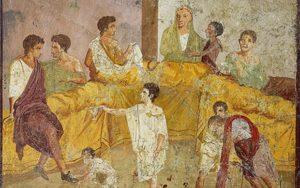 Casa del Triclinio, Pompei.
